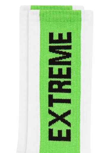 Mavi Erkek  Extreme Baskılı   Çorap 092344-900 Siyah